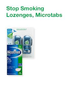 Stop Smoking Lozenges, Microtabs