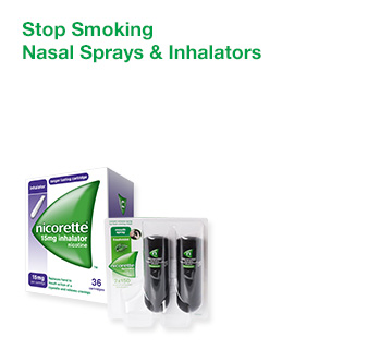 Stop Smoking Nasal Sprays & Inhalators