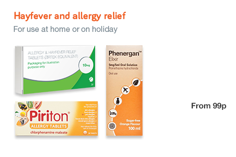 Hayfever and Travel Medicians
