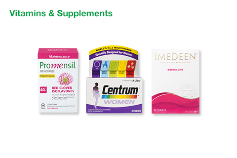 Women's Vitamins & Supplements