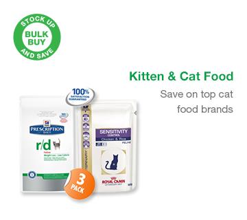 Bulk Buy Cat and Kitten Food