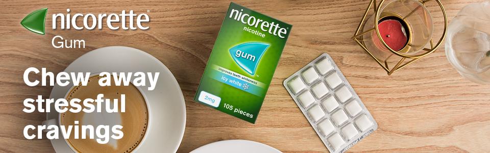 Nicorette Gum Banner 1