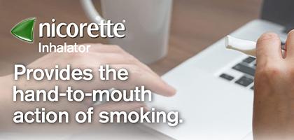 Nicorette Inhalator Banner 1