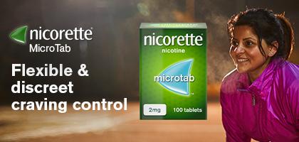 Nicorette Microtab Banner 1