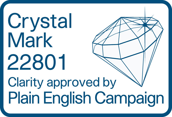 Plain English Crystal Mark